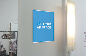 [Image: Indoor ad space in Toronto]