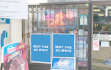 [Image: Outdoor ad space at Convenience Store]